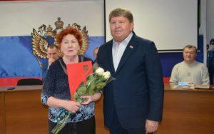 Анатолий Бадель поздравил ветеранов органов внутренних дел