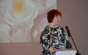 Депутат Альбина Власенко поздравила строительный колледж с юбилеем