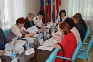 Заседание постоянной комиссии Думы АГО по вопросам законности и защиты прав граждан