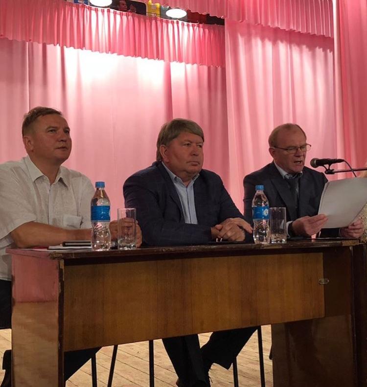 Жители ТУ «Артемовский» задали волнующие вопросы главе Артемовского городского округа