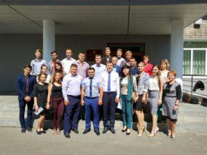 Члены молодежного парламента побывали в Михайловском районе