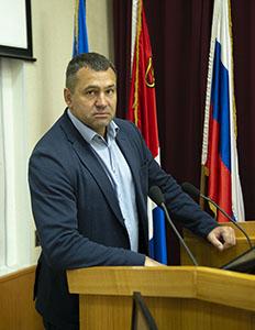 Куратор федерального партийного проекта «Здоровое будущее» в Артемовском городском округе Дмитрий Чукмасов