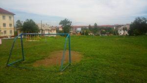 Благодаря взаимодействию жителей и депутата Думы Алексея Першина была покошена трава на футбольном поле по адресу ул. Севастопольская 24.