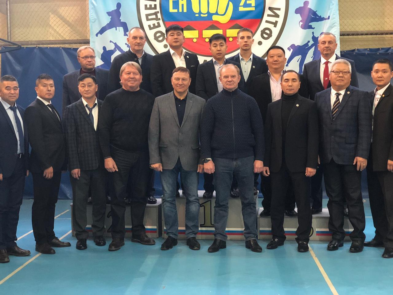 Церемония торжественного открытия Открытого кубка Артемовского городского округа по тхэквандо.