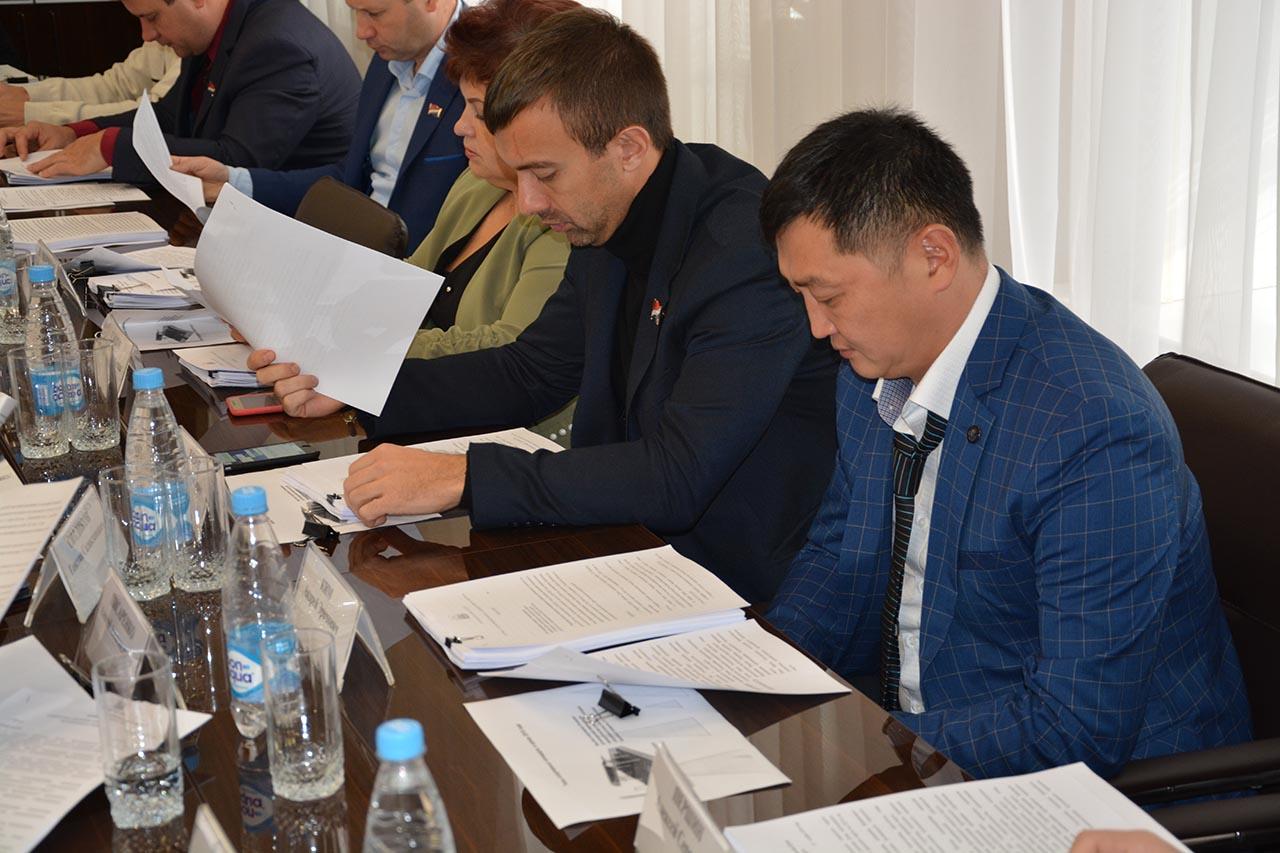 Заседание Фракции ВПП «Единая Россия» в Думе г.Артема