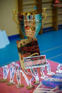 Приз главы Артемовского городского округа в размере 100 000 рублей завоевала воспитанница спортивной школы «Мастер».