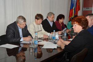 Заседание Фракции ВПП «Единая Россия» в Думе г. Артема