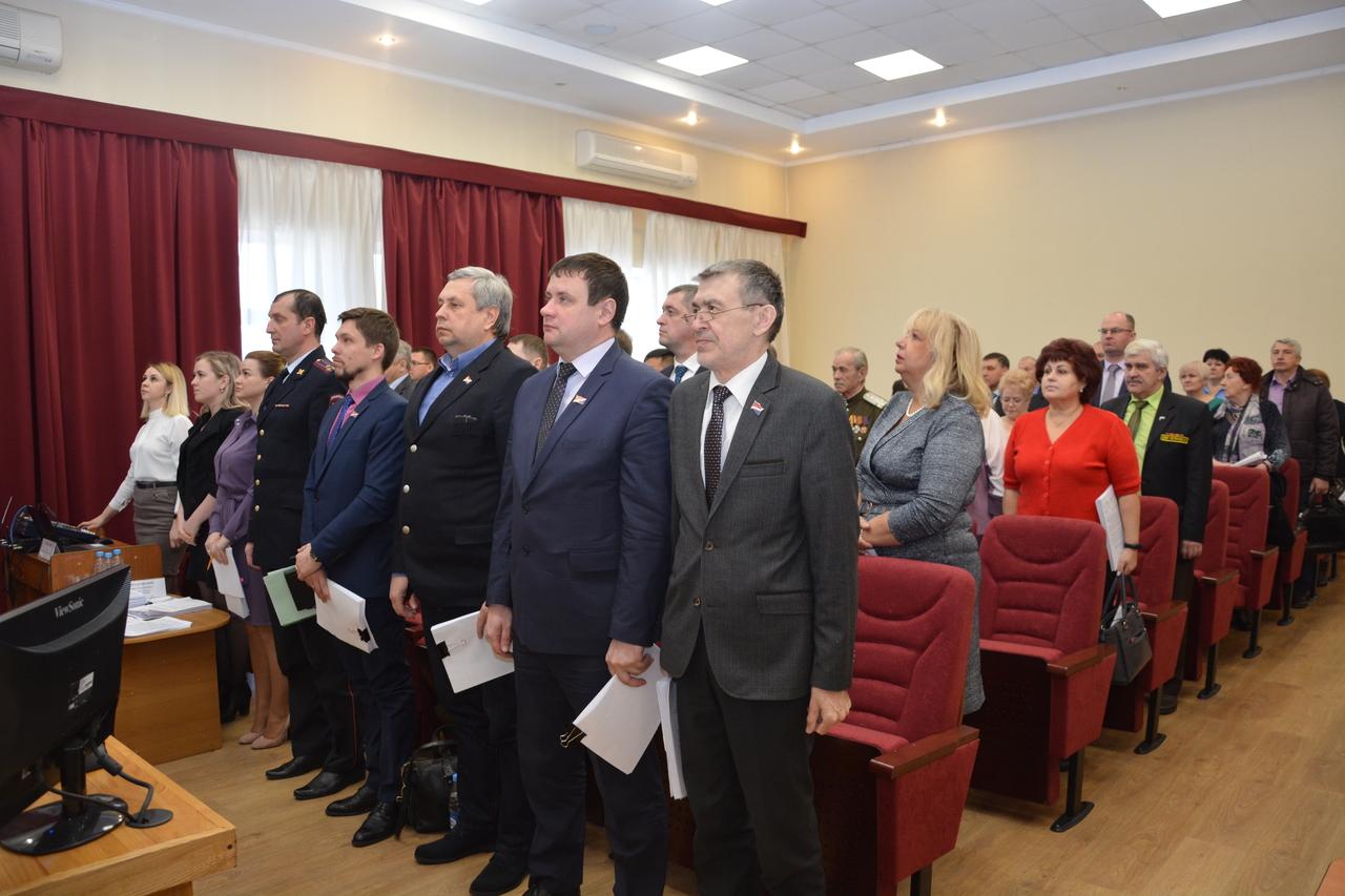 Депутаты Думы Артемовского городского округа на заседании Думы Артемовского городского округа.