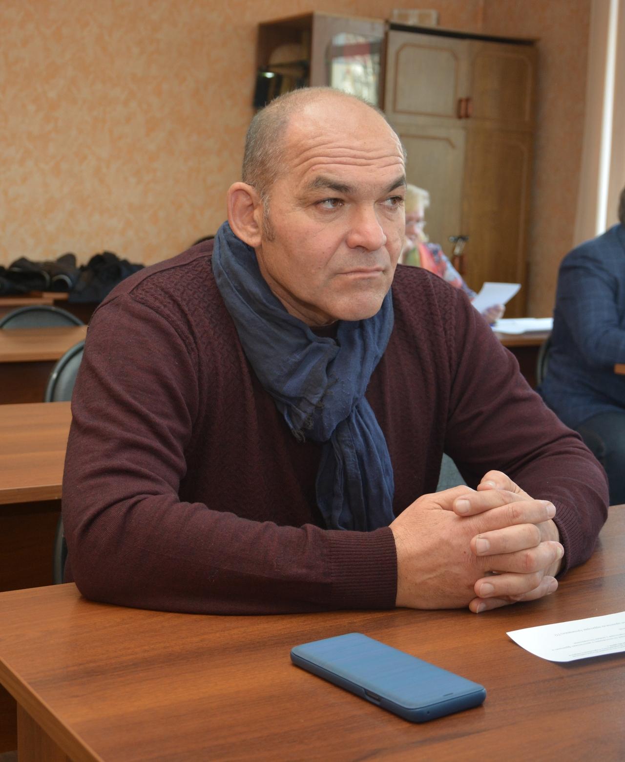 Ситдиков Гаястин на заседании Местного политического совета Партии «Единая Россия»