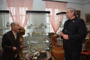 95-летний юбилей заслуженного художника Российской Федерации