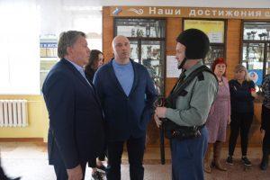 Посещение артёмовских школ № 35, 10 и 4