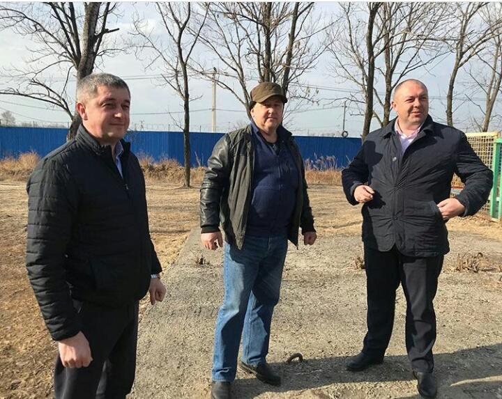 Рабочая встреча по вопросам дальнейшего благоустройства парка микрорайона «Шахта Амурская».