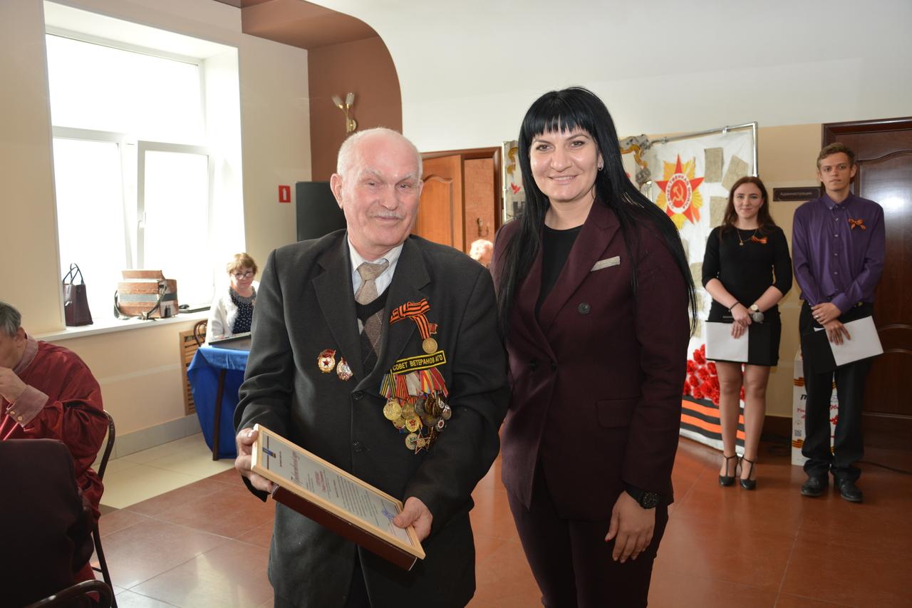 Торжественный прием ветеранов Великой Отечественной войны