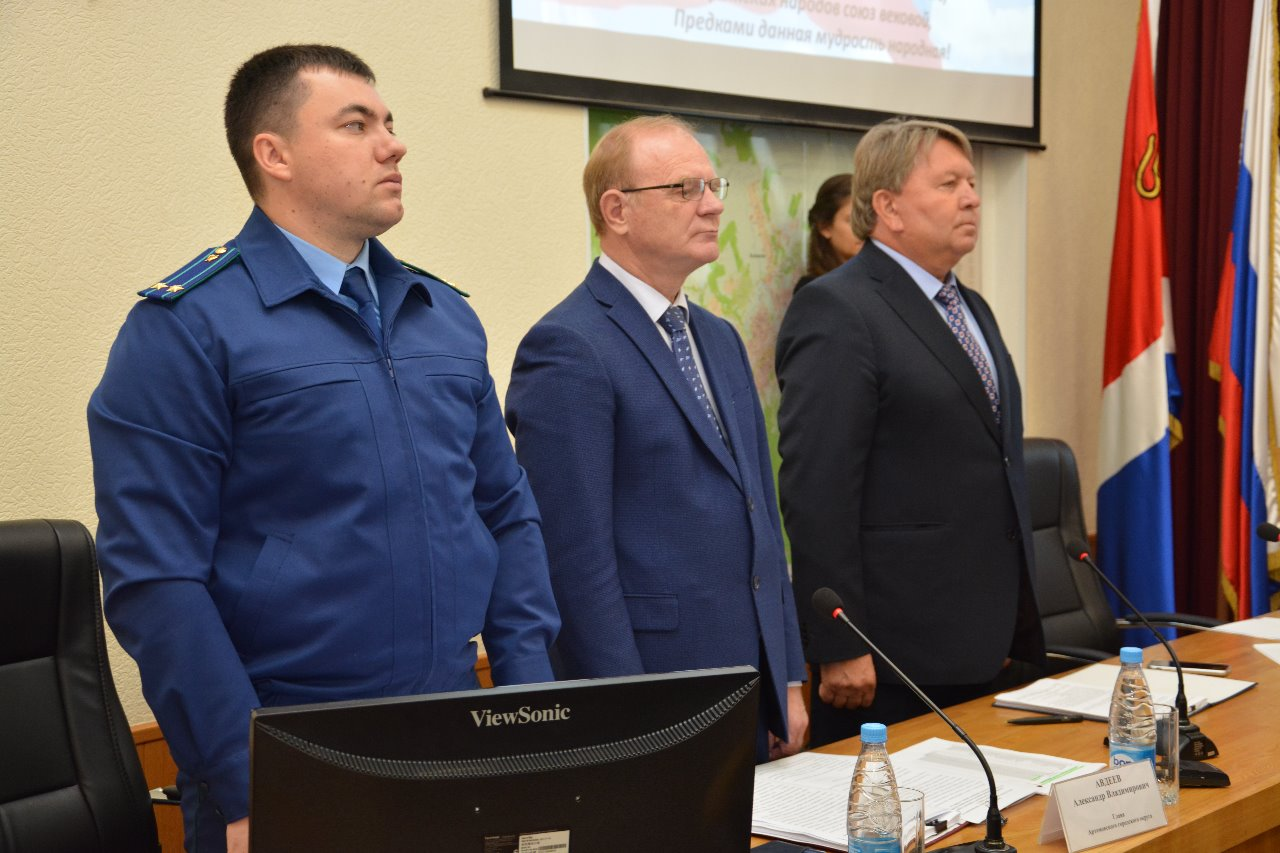 На очередном заседании Думы Артемовского городского округа народные избранники рассмотрели 8 вопросов.