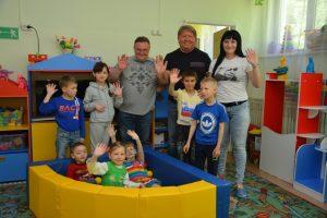 Игровой бассейн для детей из артёмовского социально-реабилитационного центра вручил предприниматель