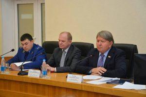 Ряд вопросов рассмотрели сегодня депутаты Думы на очередном заседании Думы местного парламента.