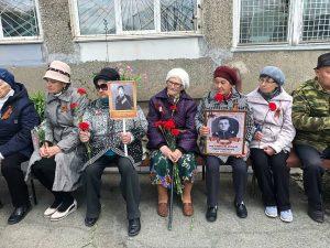 Мероприятия, посвященные 74-й годовщине Победы в Великой Отечественной войне.