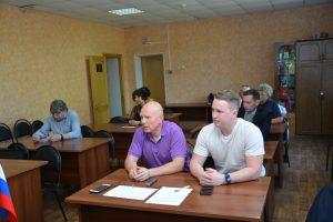 Заседание Местного политического совета Местного отделения ВПП «Единая Россия»