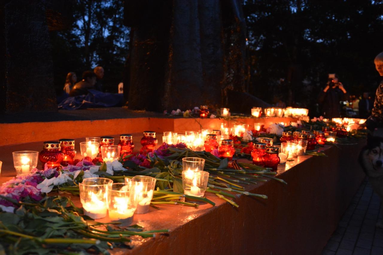 В День памяти и скорби в Артёмовском городском округе прошла всероссийская мемориальная акция Свеча памяти.