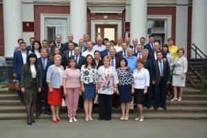 Заседание Совета председателей представительных органов городских округов и муниципальных районов при Законодательном Собрании Приморского края.