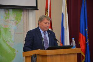 Председатель Думы Артемовского городского округа рассказывает участникам Совета о реализации нацпроекта «Культура» на территории Артемовского городского округа