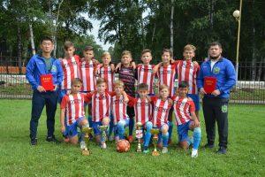Юные футболисты Артёма нацелены на победу.