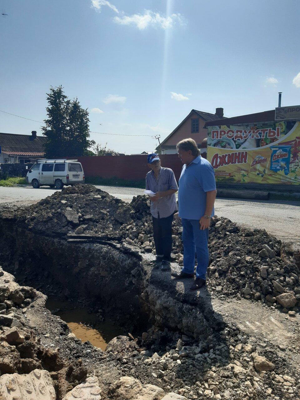 В Думу Артёмовского городского округа обратился Виктор Ященко, проживающий по ул.Луговая 106 с вопросом о подтоплении его участка.