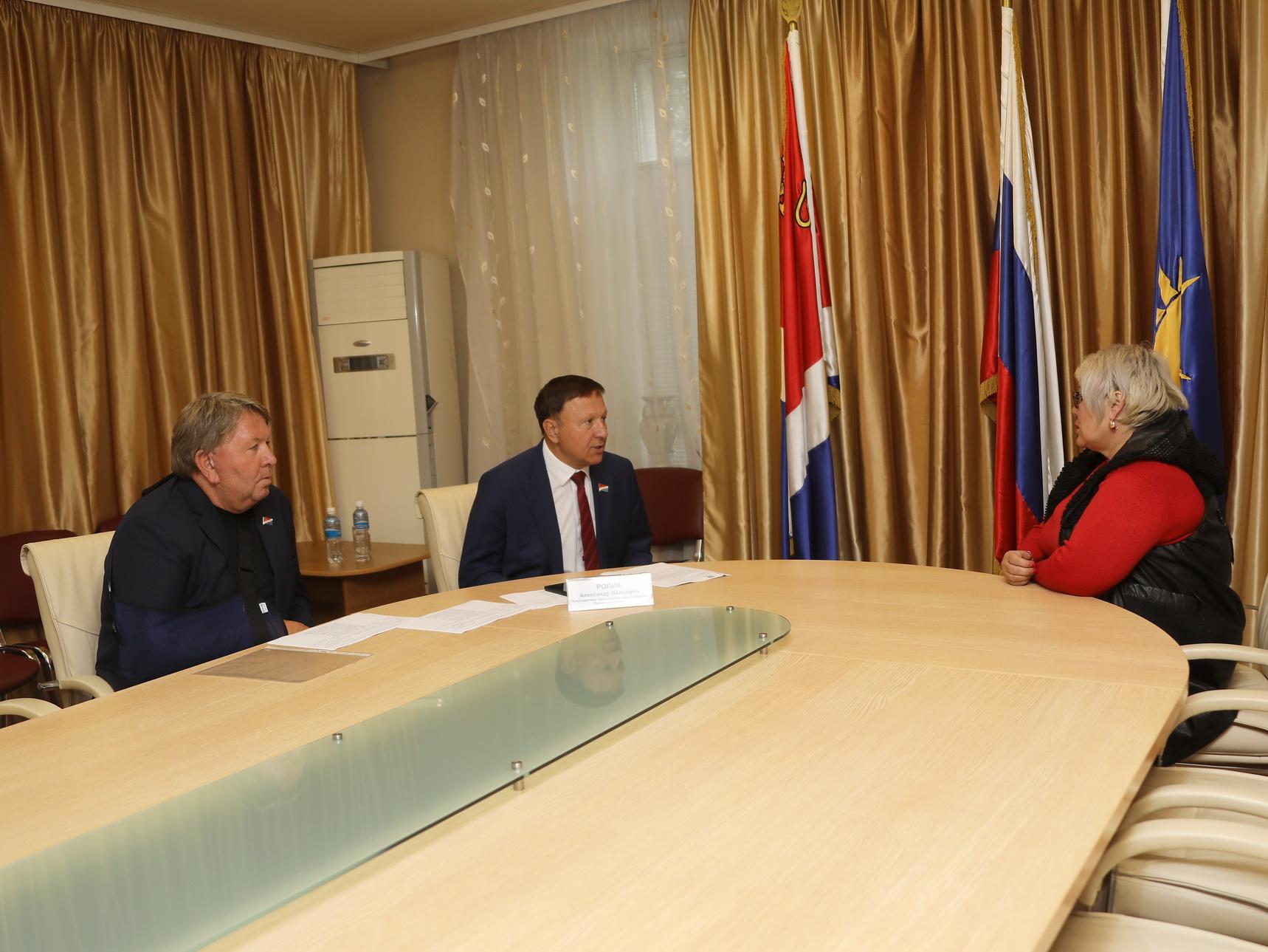 Встреча с представителями общественных организаций и личный прием граждан.
