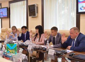 Участие молодых депутатов  в реализации национальных проектов, обмен региональными и муниципальными практиками.