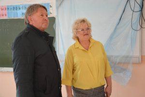 Проверка хода выполнения ремонтных работ в школе 31 на шахте «Амурская».