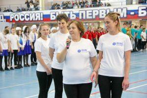В физкультурно-оздоровительном комплексе Артёма состоялось посвящение в студенты-2019.