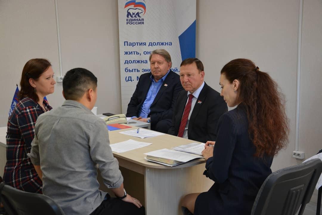 Прием граждан председателем Законодательного Собрания Приморского края.
