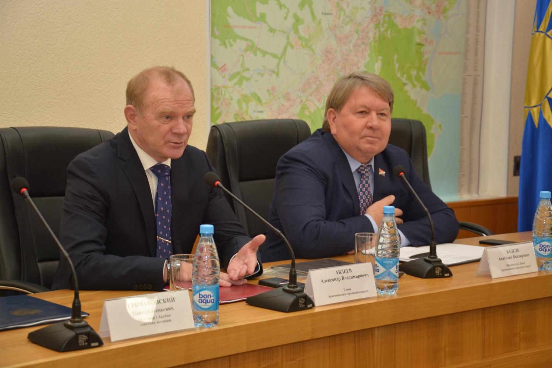 Состоялось внеочередное заседание Думы Артемовского городского округа.