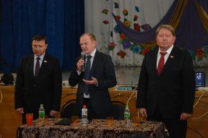 В селе Суражевка прошла встреча с местными жителями.
