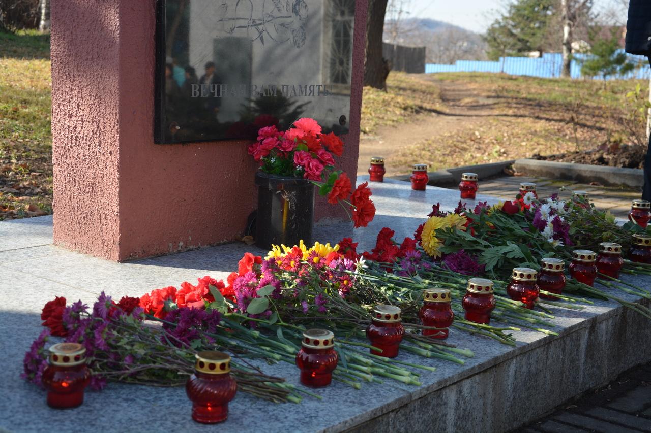 Митинг, посвященный Дню памяти жертв политических репрессий.