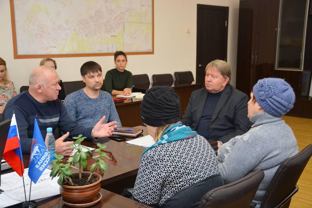 Приём граждан по личным вопросам в рамках партийного приёма ВПП «Единая Россия».