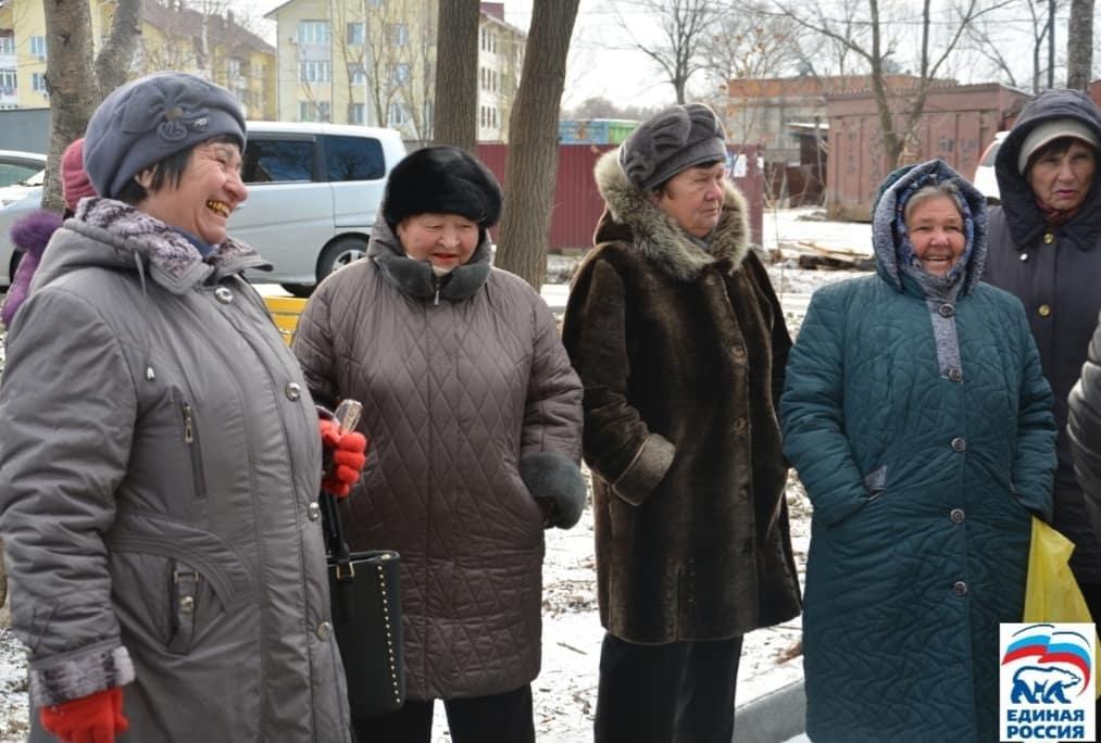 Встреча с жителям шахты «Амурская» в рамках единой недели приема граждан.