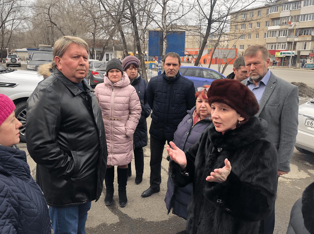 Участие в выездной встрече с жильцами дома по ул. Фрунзе