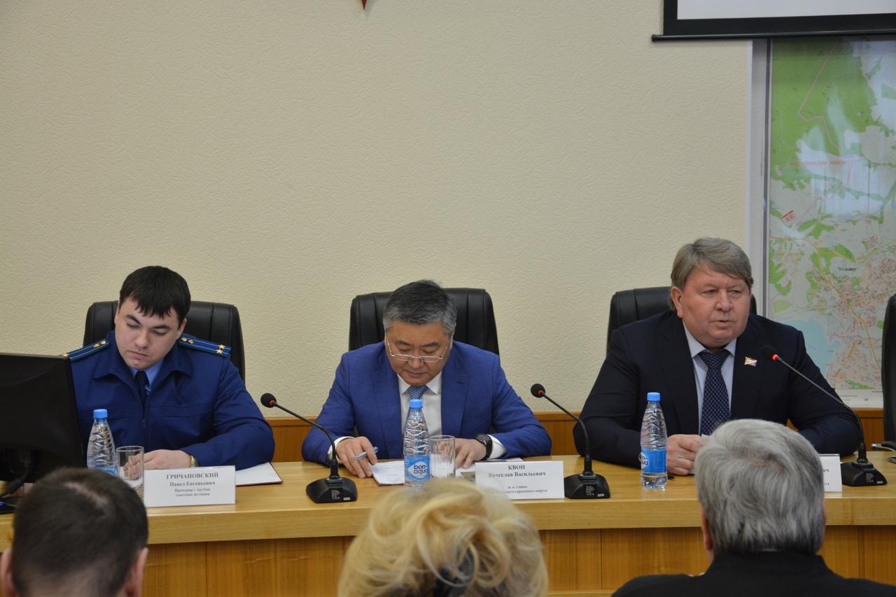 Формирование конкурсной комиссии по проведению конкурса по отбору кандидатур на должность главы Артемовского городского округ