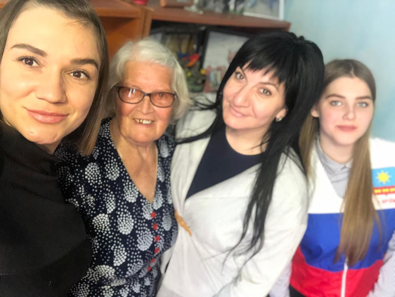 Знакомство с Омильянчук Ниной Николаевной, вдовой военнослужащего