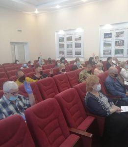Выборы нового состава Общественной палаты Артемовского городского округа состоялись сегодня.