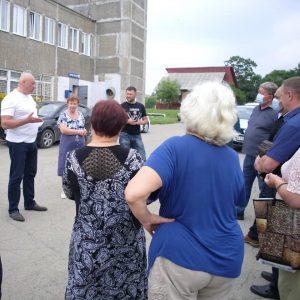 Насущные вопросы села Суражевка обсудили с жителями