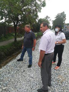 Капитальный ремонт дороги на пер. Русском в с. Кневичи идет полным ходом.