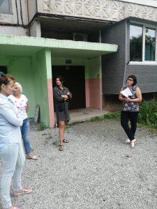 Обращение жителей ул. Бабушкина, 14 о ненадлежащем содержании общего имущества их многоквартирного дома.