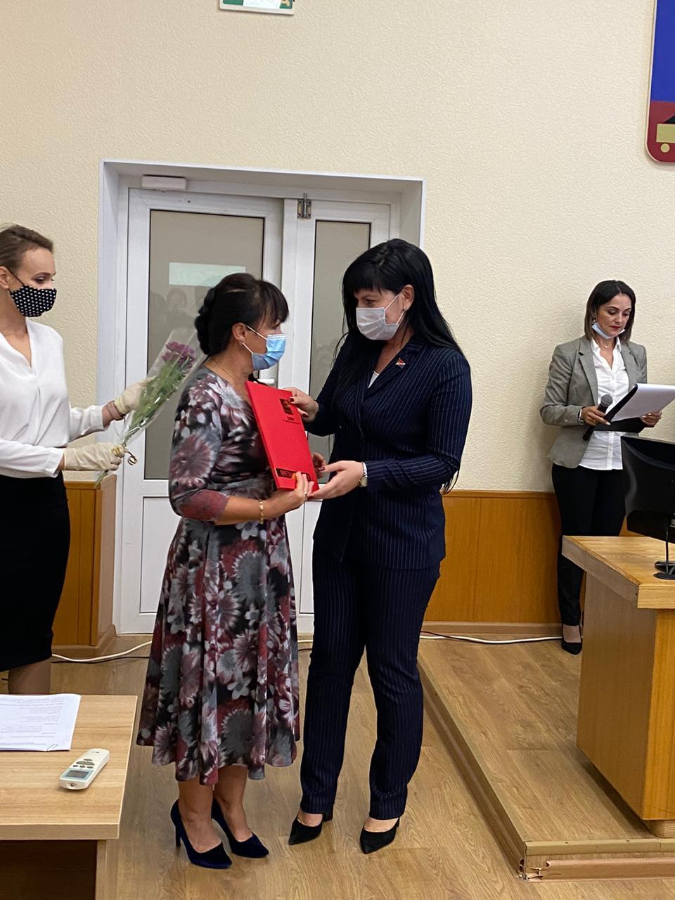 Награды Думы вручены работникам  учреждений профессионального образования