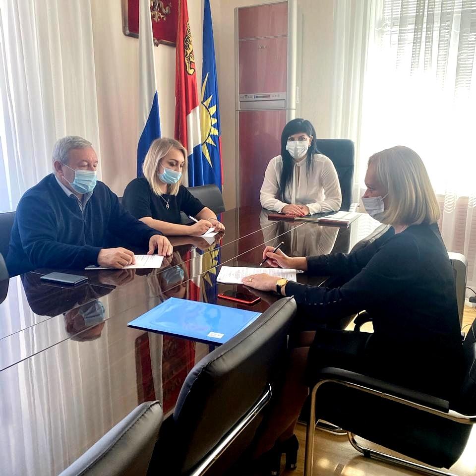 Встреча председателя постоянной комиссии Думы по вопросам законности и защиты граждан