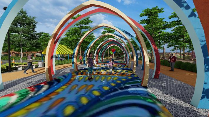 Каким будет детский парк в городе Артеме обсудили на заседании Общественного совета