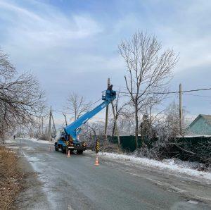 В Артемовском городском округе восстановительные работы продолжаются.