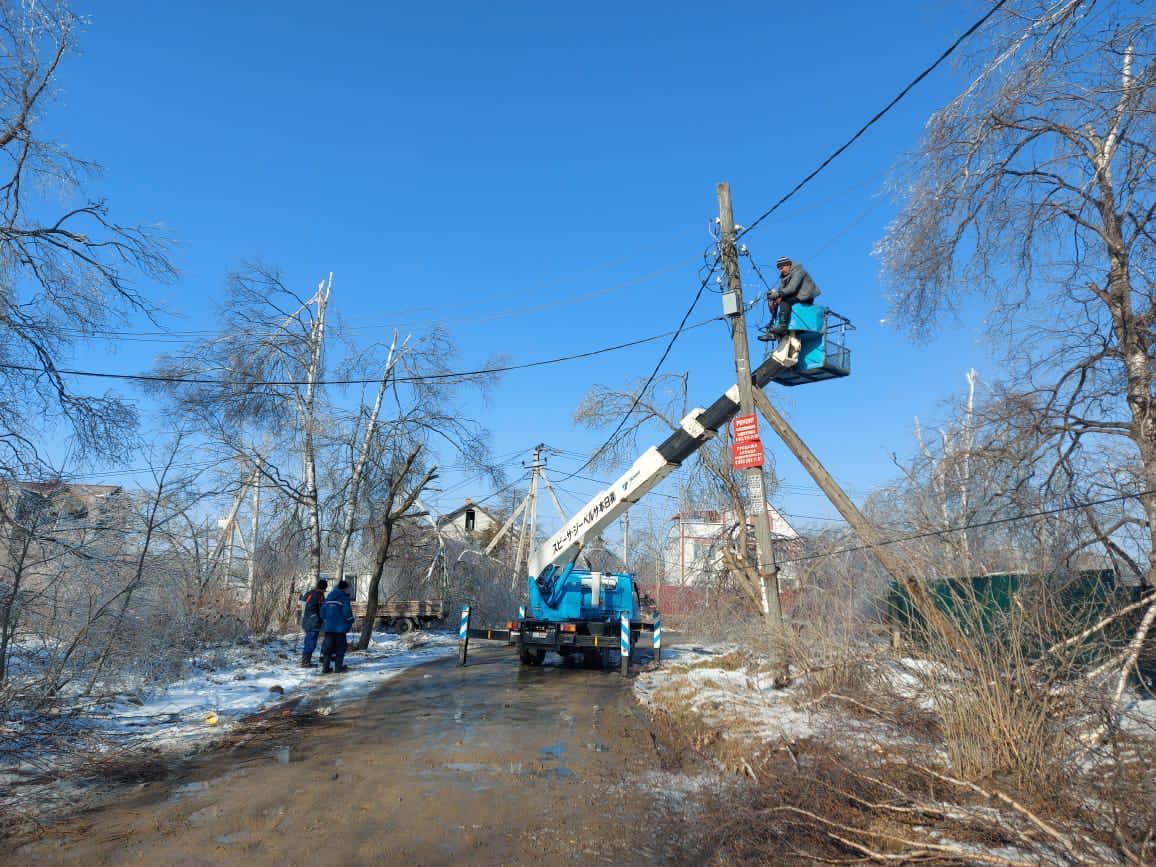 Завершается подключение электроснабжения в Артёме