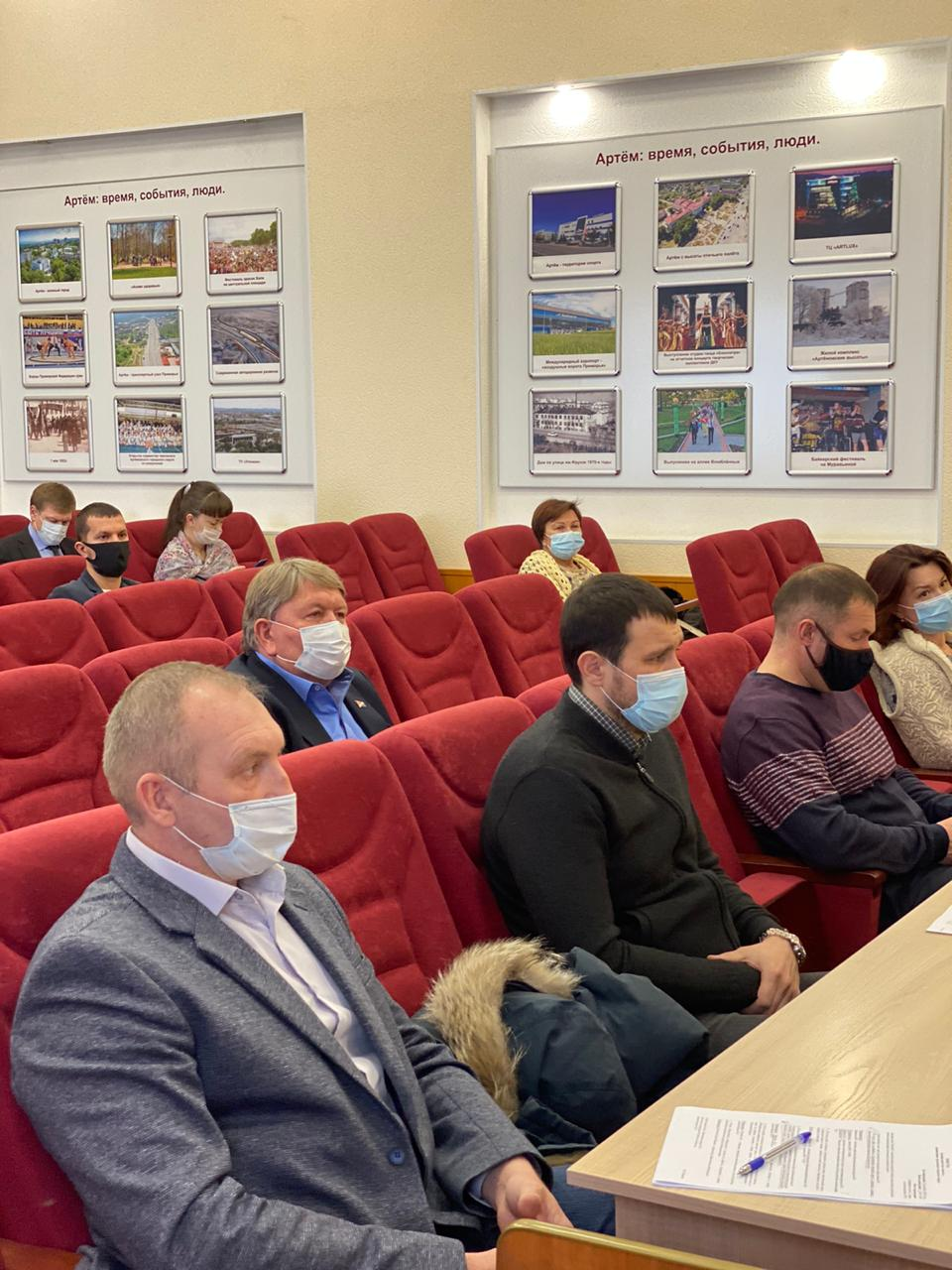 Участие в заседании проектного комитета под председательством главы округа Вячеслава Квона